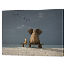 Animal Friends Canvas Print | Framed Ready to Hang Contemporary Wall Prints