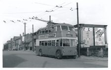 Transport Yorks BRADFORD Eccles Hill terminus Trolley Bus Photograph by Packer