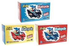 MAR1900. DC Retro Style Batcycle (RED, BLACK, or BLUE) Figures Toy Company