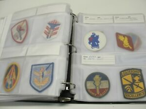 LOT 59 ASSORTED MILITARY PATCHES