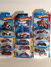 🔥Hot Wheels🔥Lot motorcycles Brand New Hw Collection Mix Vintage bikes