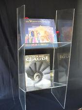 Acrylglas - Regalelement zur Presentation oder Aufbewahrung H = 70 cm