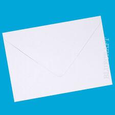 100 x C6 Diamond White 100gsm Gummed Invite Envelopes - Wedding Invitations