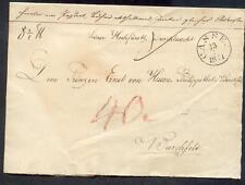 Cassel 1841 vorphila principe lettera - (r0579
