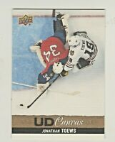 2013-14 Upper Deck CANVAS #C171 JONATHAN TOEWS Chicago Blackhawks