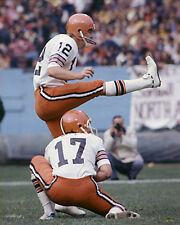 DON COCKCROFT & BRIAN SIPE 1978 CLEVELAND BROWNS 8X10 PHOTO