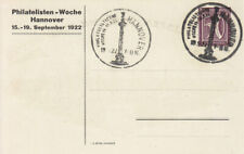 PP  61 C 4  -  mit  SONDERSTEMPEL  -  HANNOVER  1922  -