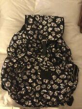 Victoria's Secret Pink Bling Sequin Leopard Backpack Book Bag Tote