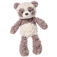 "Mary Meyer Putty Nursery Panda Bear 11"" Stuffed Plush Animal Toy ~ Grey & White"
