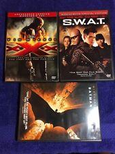 4 Dvd Van Diesel Xxx 2 Disc Set - Swat - Batman Begins - Free Shipping