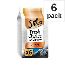Sheba Fresh Choice Fish Select Cuts In Gravy High Quality Adult Cat food 48x50g