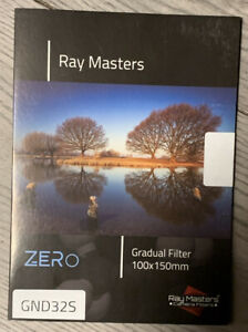 Brand New Ray Masters 100mm ND4 0.6 2 Stop ND Filter Organic Glass