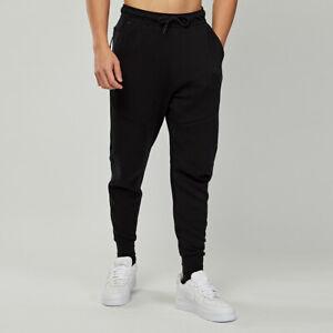 Nike Tech Jogger Sweat Pants Black Pockets Size Mens M Slim Fit NWT
