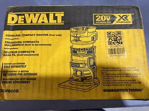 DEWALT DCW600B 20V MAX XR Compact Router OB3