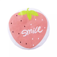 Shower-Cap Girls Smile Pink Strawberry