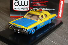 DODGE MONACO NEW YORK STATE POLICE 1974 ERTL AUTO WORLD HOBBY 1/43 NY TOY CAR