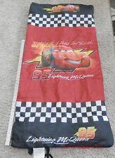 Disney PIXAR Cars Lightning McQueen Camping Sleeping Bag Kid Size