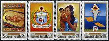 Samoa 1970 SG#353-6 Christmas MNH Set #D9409