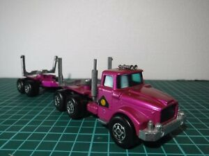 Matchbox King Size Scammell Contractor Pipe Logging Truck and Trailer