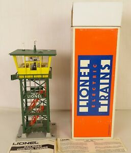 LIONEL #6-2318 OPERATING RAILROAD CONTROL TOWER-NEW IN ORIGINAL BOX!