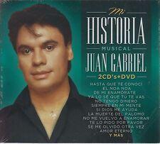 2 CD's + 1 DVD Juan Gabriel CD Mi Historia Musical El Noa Noa y MAS SEALED NUEVO