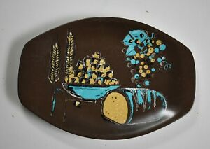 Bessemer bread loaf grape cheese caravan picnic plate