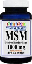 MSM 1000mg 200Caps [Health and Beauty] Methylsulfonylmethane