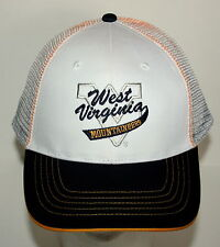 University of  West Virginia Mountaineers Napa Baseball Cap Hat New Mesh