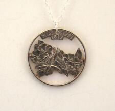 Mississippi State, Cut-Out Coin Jewelry, Necklace/Pendant
