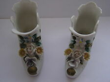New listing Vintage porcelain collector boots / shoes