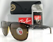 Ray-Ban RB4147 Sunglasses Tortoise Brown Brown Polarized Lenses 710/57 60mm