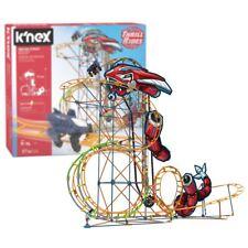 Nuevo K 'nex THRILL RIDES mecha y juego de construcción de huelga montaña rusa Motor oficial