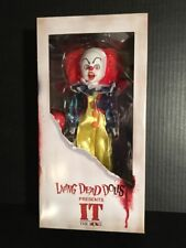 """Living Dead Dolls Presents"""" IT"""" Stephen King The Movie 10"""" Doll Factory Sealed!"""