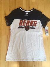 New NWT chicago bears v neck t shirt nfl team apparel womens Large