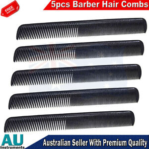 5pcs Barbers Hair Comb For Cutting Hair stylist Salon Hair Care Salons Tool New