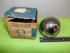 NOS Vintage Cal Customs Chrome Gear Shift Ball Mopar Ford GM Hot Rat Rod USA