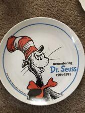 Remembering Dr Seuss 1904 - 1991 Collectors Plate