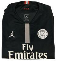 Jordan PSG Jersey UEFA Champion League 18/19 Home Black Mens 2XL NWT 919010-012