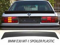 Fits BMW E30 85-91 MT1 M TECH 1 STYLE TRUNK SPOILER ABS UNPAINT
