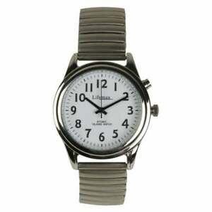 Ladies Radio Controlled Talking Watch with Expanding Strap