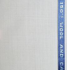 Blanco Super 150's de LANA de casimir satisfaciendo Tela-Longitud = 3.50 metros