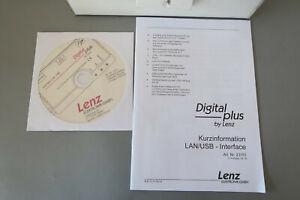 Lenz 23151 Digital Plus LAN/USB Interface für PC Anschluß (AJ746-82R1/15)
