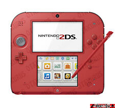 Nintendo 2DS Couleur Rouge Console Portable NTSC-J Japon