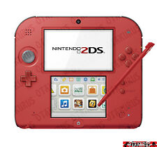 Nintendo 2DS Rote Farbe Handheld-konsole NTSC-J Japanisches