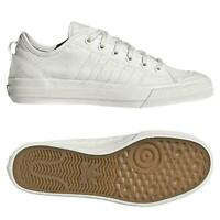 adidas ORIGINALS NIZZA LO RF WHITE TRAINERS SKATEBOARDING SHOES CANVAS SNEAKERS