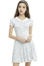 Hot Topic Disney Alice & Wonderland Collar Dress Size L Sold Out