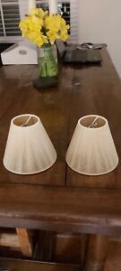 John Lewis Candle Lampshades X 2