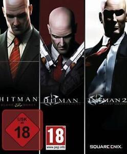 Hitman Trilogy Blood Money + Contracts + Hitman 2 Silent Assassin Neuwertig