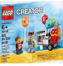Lego 40108 Balloon Cart - New Sealed