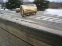 Nice Gillette 1948-1949 Aristocrat Gold Tone DE Safety Razor